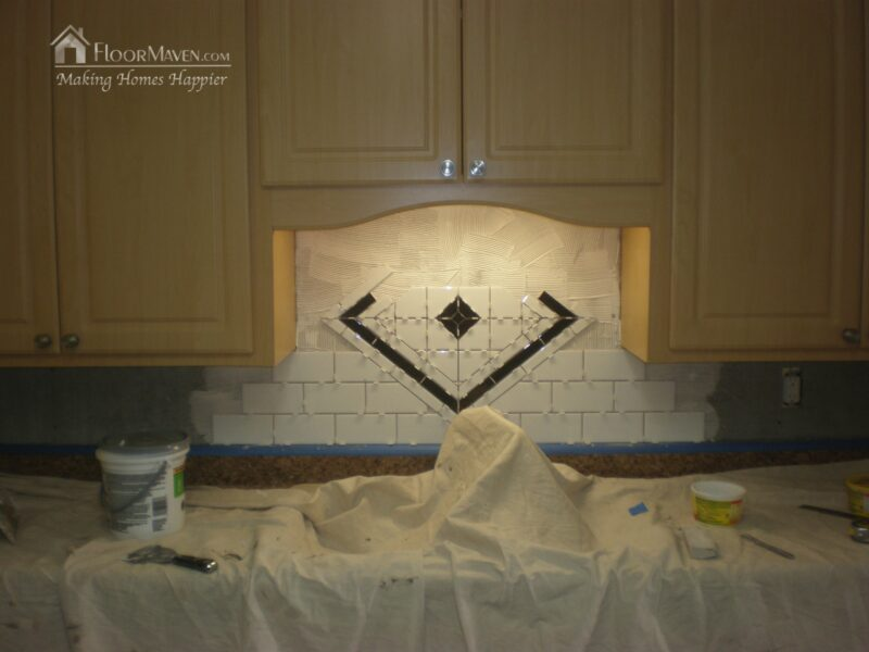 Timeless Subway Tile with a POP! by FloorMaven.com