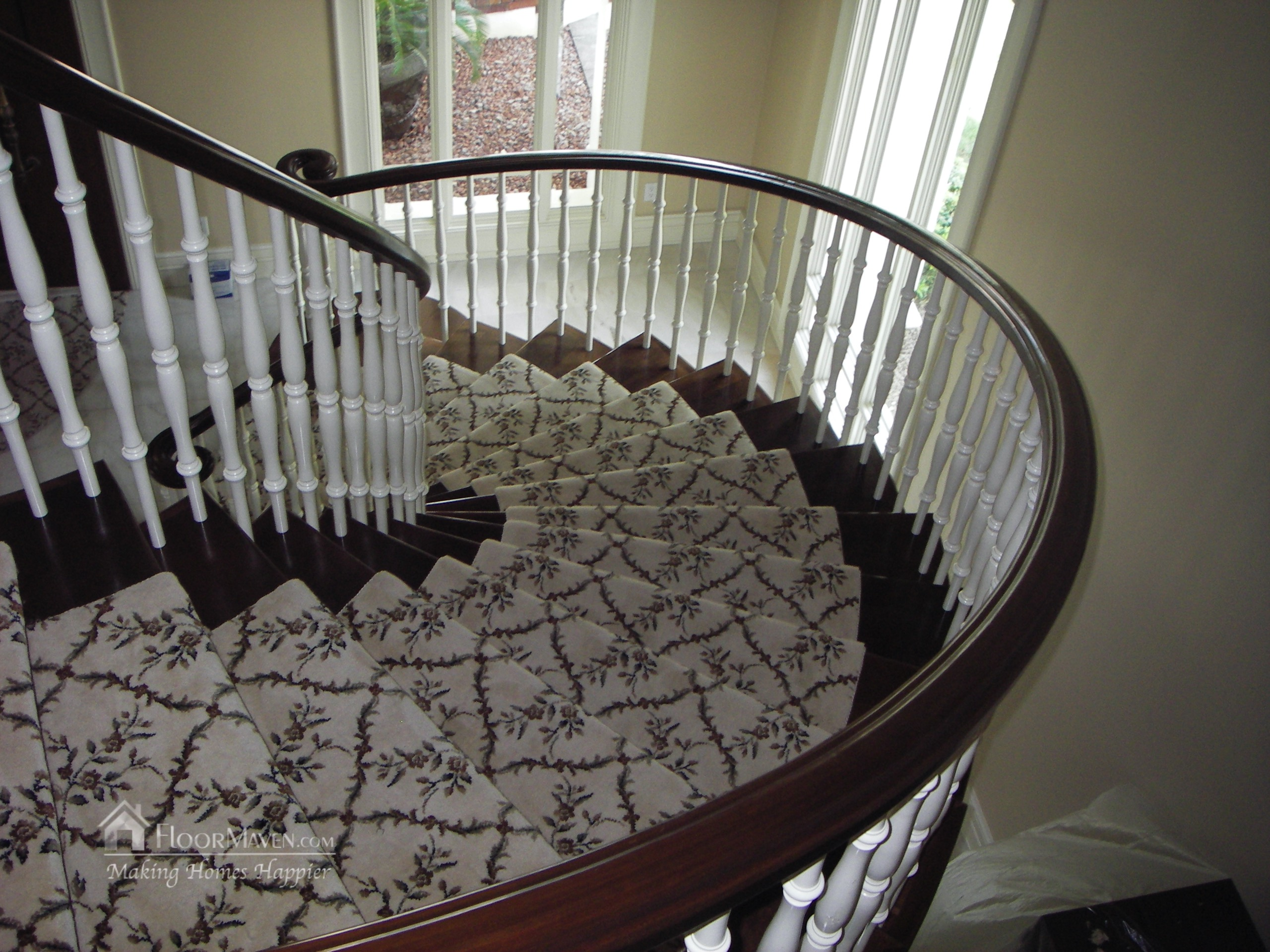 Carpet Runner in Biltmore Estates by FloorMaven.com